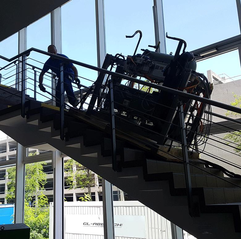 Matrans-Treppe-Transport